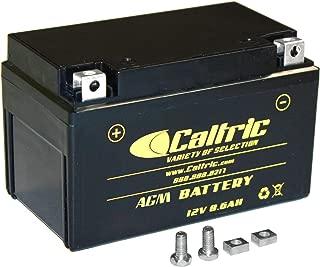 CALTRIC AGM BATTERY compatible with YAMAHA RAPTOR 350 YFM350R YFM-350R SE 2004-2013