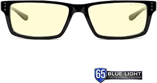 Gaming Glasses | Blue Light Blocking Glasses | Riot/Onyx by Gunnar  | 65% Blue Light Protection, 100% UV Light, Anti-Reflective To Protect & Reduce Eye Strain & Dryness