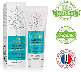 1001 Remedies Acne Spot Treatment & Dark Spot Corrector For Face - Acne Scar Remover Cream For Clean and Clear Skin - Tea Tree Oil Moisturizer for Spot, Acne, Rosacea Prone Skin - Adult, Teens