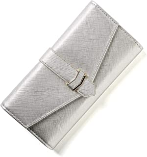 Wallets 36 Card slots Genuine Leather RFID Blocking wallet for women with wrist strap