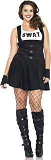 Womens Plus Size Sultry SWAT Team Officer Roleplay Costume