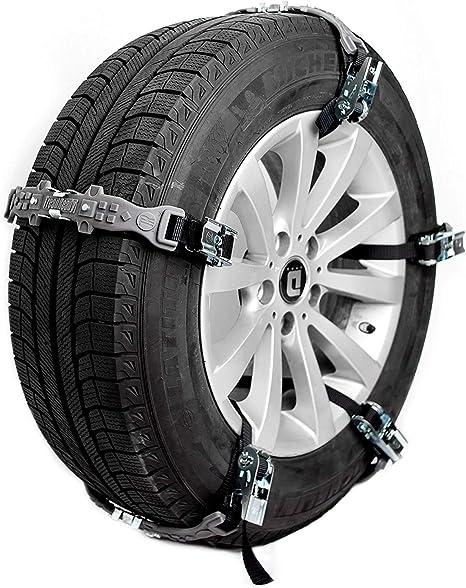 TreadReady Adirondack Anti-Skid Emergency Tire Straps- Set of 10 | Tire Chain Alternatives, Passenger Car Traction Device, Snow, Sand, Mud Chains for SUV/Cars/Trucks/ATV: image