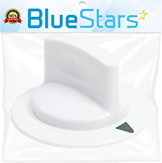 Ultra Durable WE1M652 Dryer Timer Control Knob Replacement Part by Blue Stars - Exact Fit for Hotpoint & General Electric Dryers - Replaces 1264289 AP3995164 PS1482196