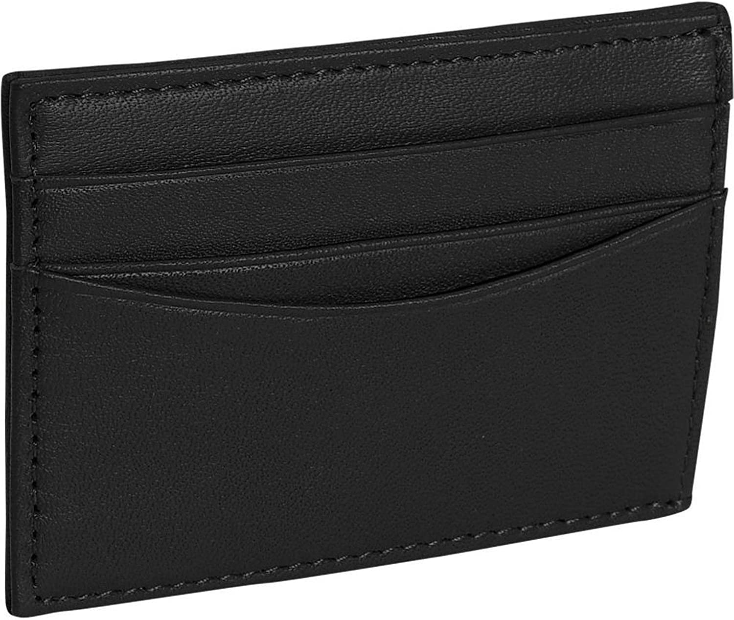 Royce Leather Men's Top Grain Nappa Leather Magnetic Money Clip Wallet And Cr.