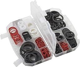 Meister 8910090 Set van rubberen dichtingen, transparante kunststoffen bewaardoos