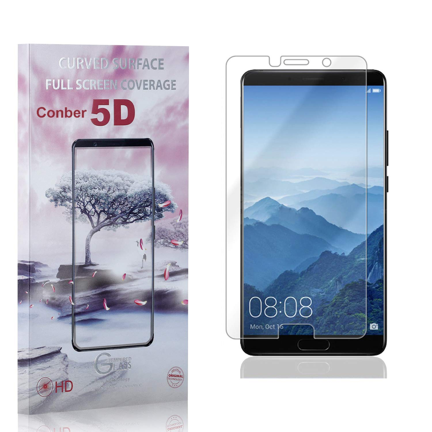 Conber 4 Max 64% OFF Pack 35% OFF Screen Protector Mate 10 Huawei Anti-Shatt for