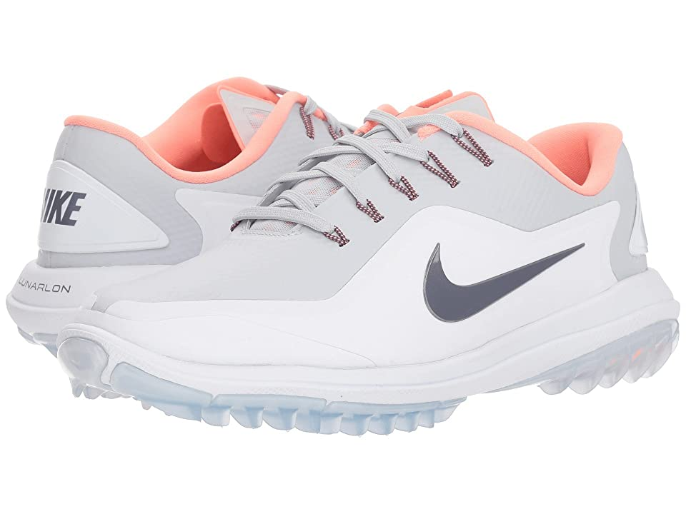 Nike Golf Lunar Control Vapor 2 (Pure Platinum/Light Carbon/White) Women