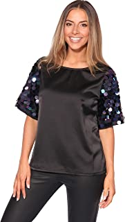 7bd5c4629 Amazon.es: bershka - Camisetas, tops y blusas / Mujer: Ropa