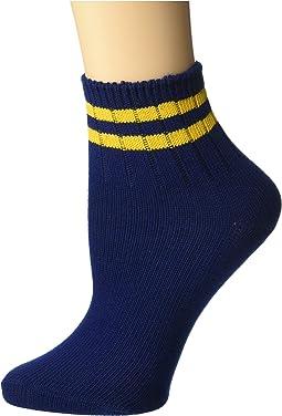 fc86b9b73b4f Women's Navy Socks + FREE SHIPPING | Clothing | Zappos.com