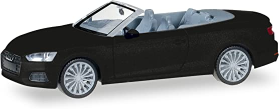 Audi A5 Convertible, metallic-black, 0, Model Car,, Herpa 1:87