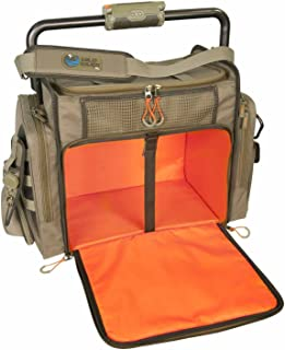 Wild River by CLC Custom Leathercraft WN3702 Tackle Tek Frontier Lighted Bar Handle Tackle Bag (Trays Not Included)