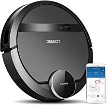 ECOVACS DEEBOT 901 Smart Robotic Vacuum for Carpet, Bare Floors, Pet Hair, with Mapping Technology, Higher Suction Power, ...