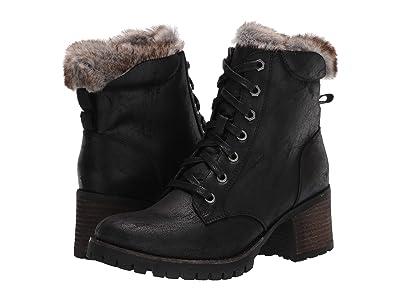 Steve Madden Comfort Winter Bootie (Black/Black) Women