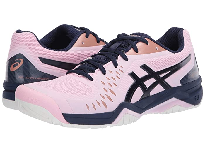 ASICS  Gel-Challenger 12 (Cotton Candy/Peacoat) Womens Tennis Shoes