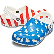 Men's and Women's Classic American Flag Clog Comfort Slip On