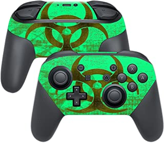 MightySkins Skin Compatible with Nintendo Switch Pro Controller - Bio Skull | Protective, Durable, and Unique Vinyl Decal wrap Cover | Easy to Apply, Remove, and Change Styles | Made in The USA