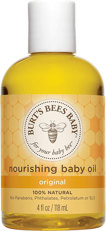 Burt's Mail order Bees Baby Nourishing Oil 100% Dealing full price reduction Car Skin Natural