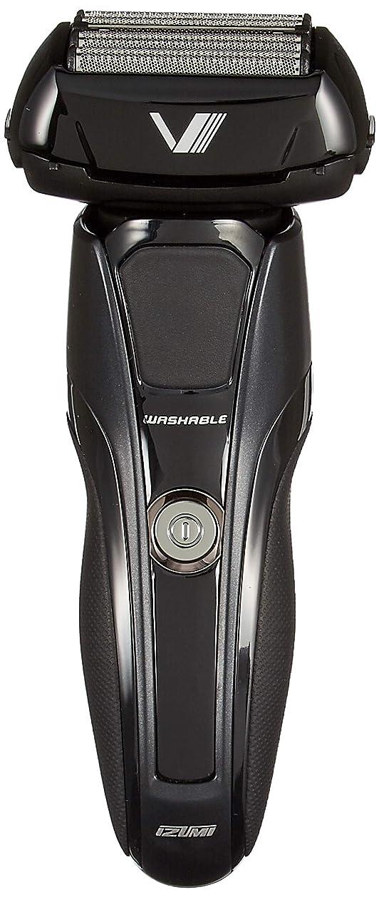お客様電話する買い手IZUMI Z-DRIVE ハイエンドシリーズ 往復式シェーバー 5枚刃 ブラック IZF-V948-K-EA