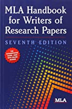 MLA Handbook for Writers of Research Papers by Modern Language Association of America (15-Jan-2009) Paperback