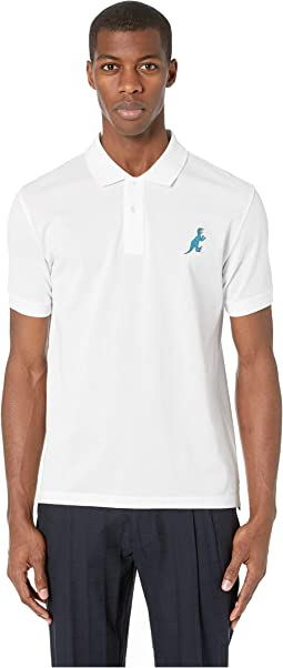 Regular Fit Polo with Dino Logo