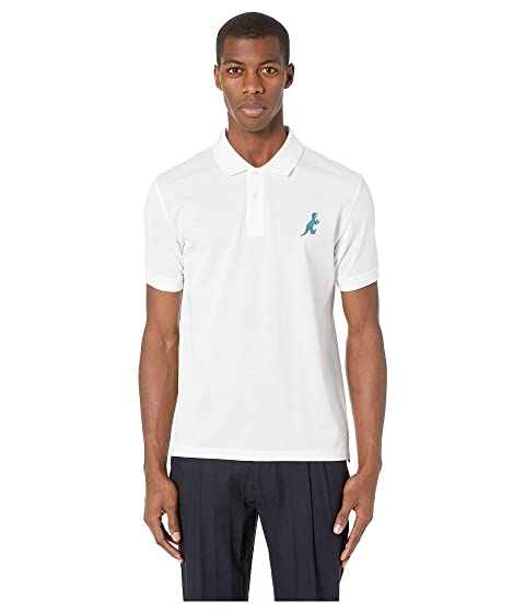 99dcd29a8 Paul Smith Regular Fit Polo with Dino Logo at Luxury.Zappos.com