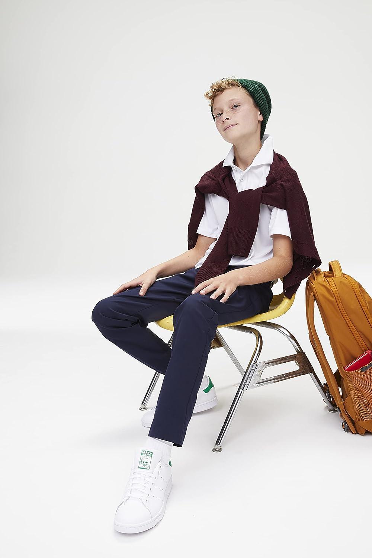 French Toast Boys' Anti-Pill V-Neck Cardigan Sweater (Standard & Husky)