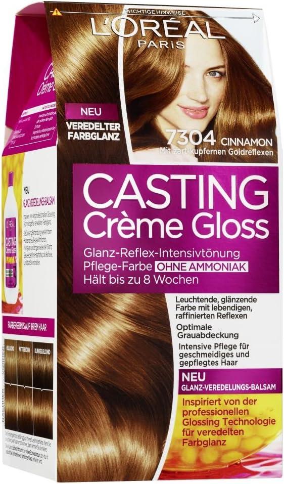 LOréal Paris casting Crème Gloss, canela, 3er Pack (3 x 222 ...