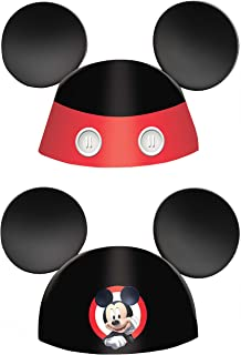 Mickey on The Go Paper Ears Die-Cut Cone Hats