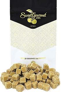 SweetGourmet Griotten | Soft Salt Salmiak Liquorice Cubes | Licorice Candy | 1 pound