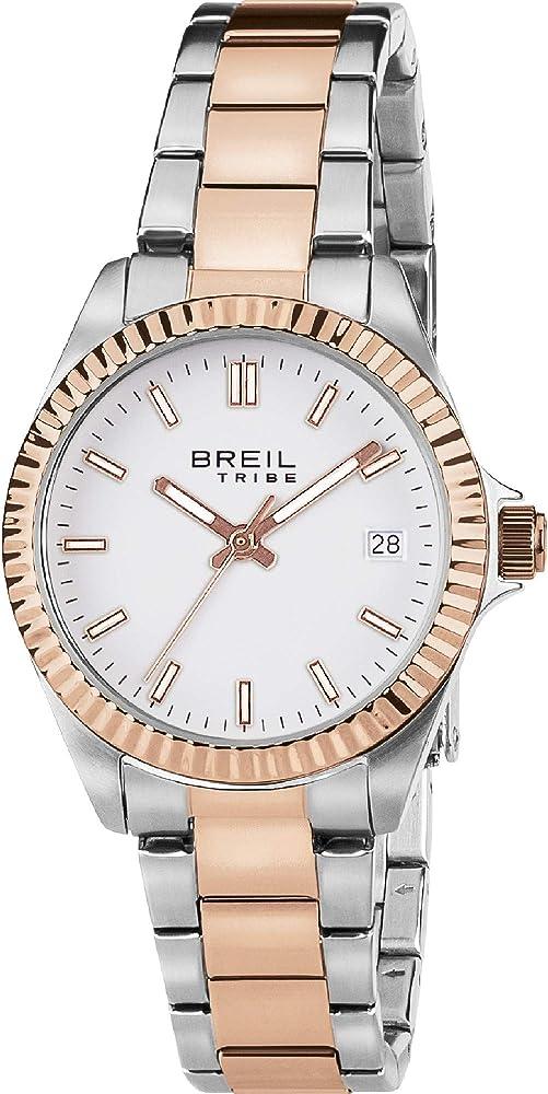 Breil, orologio unisex classic elegance,in acciaio inossidabile 7612901732404