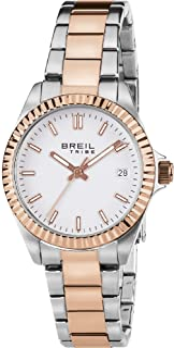BREIL - Orologio Unisex Classic Elegance, Movimento Solo Tempo - 3H Quarzo, Bracciale in Acciaio Inox