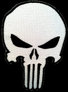 Ohrong /Écusson Motif t/ête de mort The Punisher