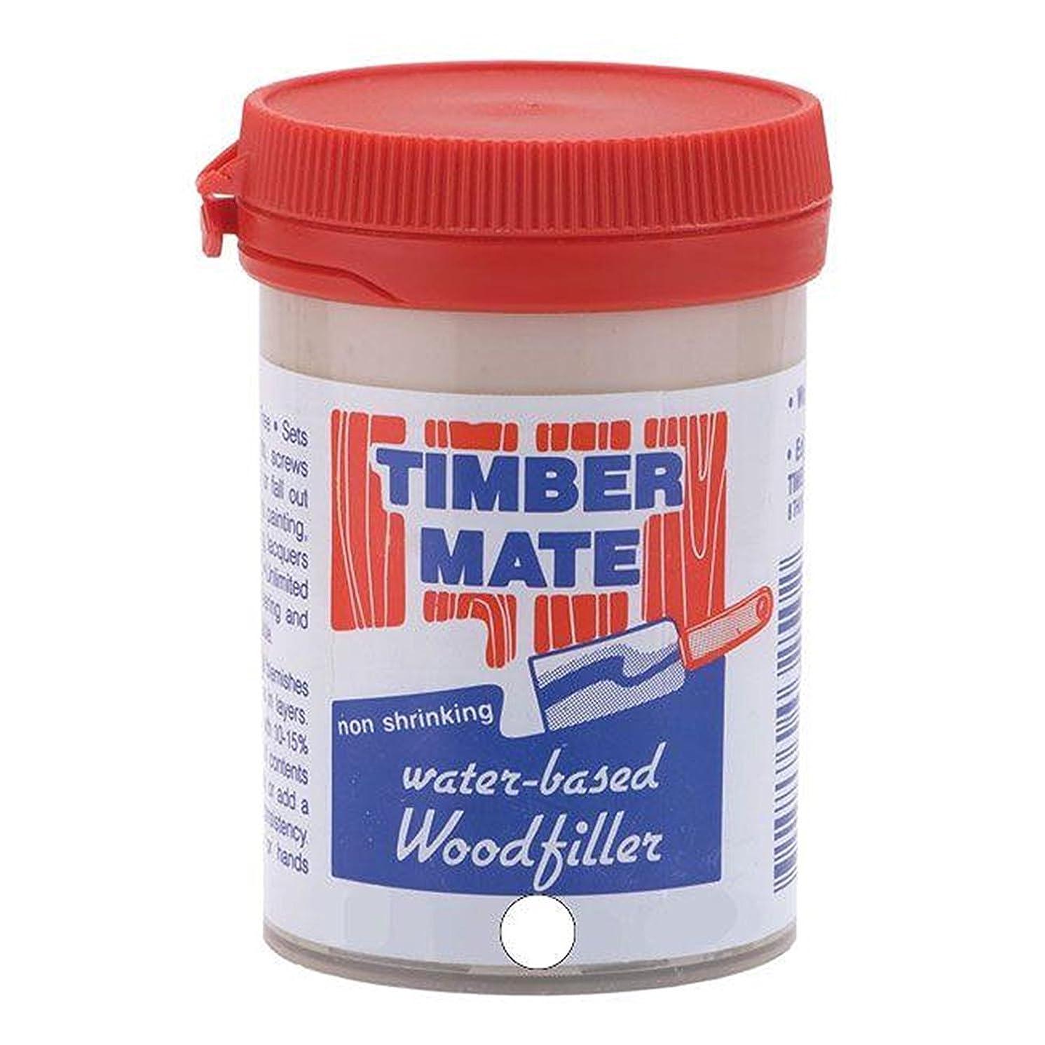 Timbermate White Hardwood Wood Filler 8oz Jar