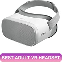 PVR Iris Standalone VR Headset All-in-One Virtual Reality Goggles for 2D 3D VR Videos - Pxrnhub YouTube Netflix Apps and MicroSD Card Supported-For Adult