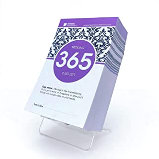 365-day Countdown to Wedding Tear Off Calendar; 1 Year Countdown to Wedding, by Creative Countdown