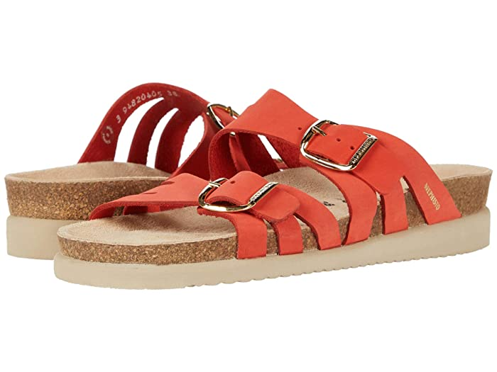 Mephisto  Helisa (Coral Sandalbuck) Womens  Shoes