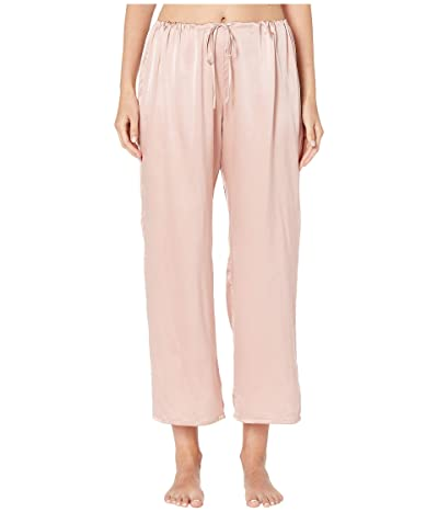 Skin Rosetta Silk Ankle Pants (Rosehip) Women