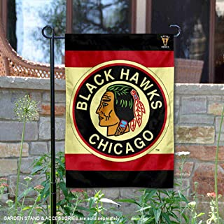 Wincraft Chicago Blackhawks Vintage Retro Double Sided Garden Flag