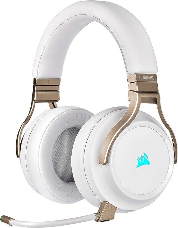 Corsair Virtuoso RGB Wireless White Gaming Headset