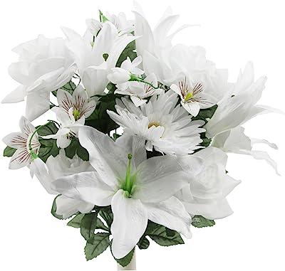10x 3.15inch Artificial Silk Gerbera Daisy Flowers Heads Wedding Party Decor DIY