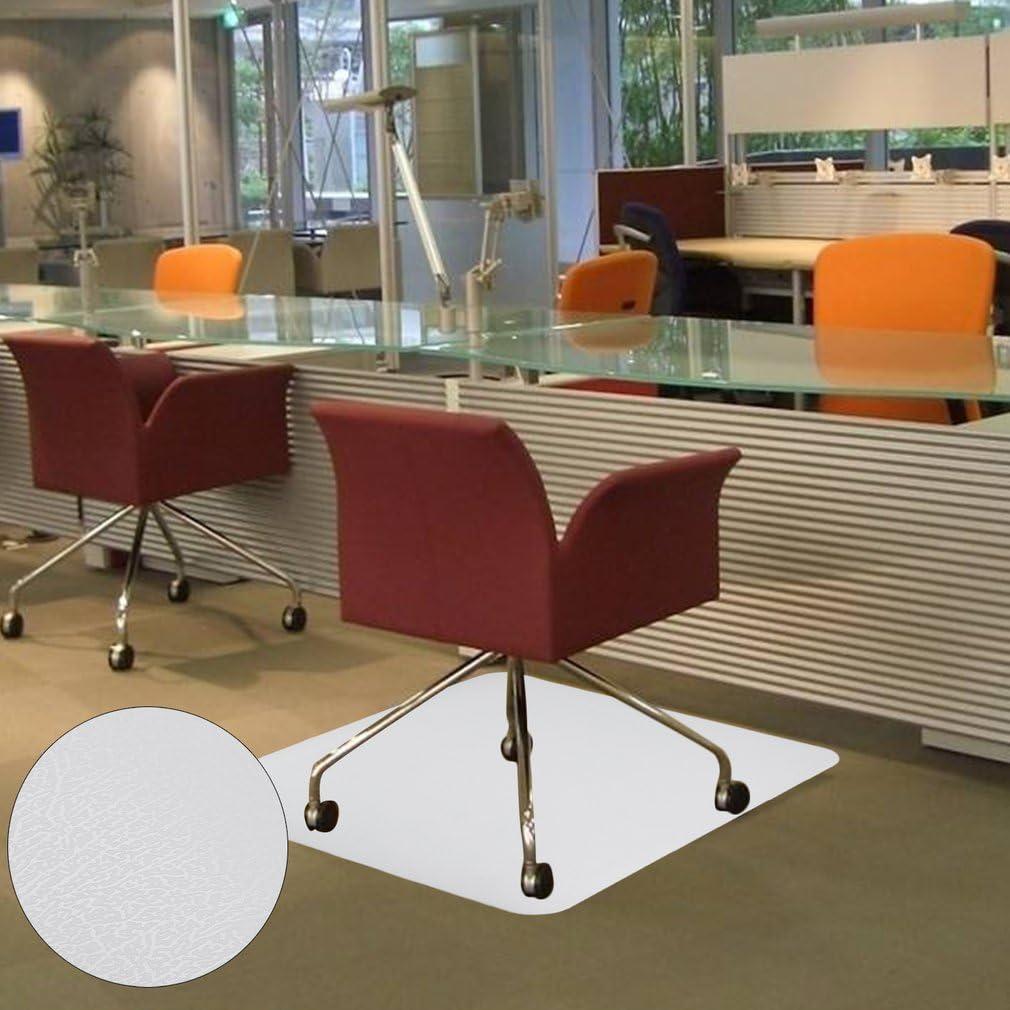 Stuhlmatten B/ürostuhlunterlage Laminat 120 x 150 cm U-Kiss Bodenschutzmatte Parkett und Fliesen 120 x 150 cm robuste und rutschfeste Stuhlunterlage f/ür Hartb/öden