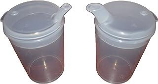 Vaso de plástico taza de alimentación con boquilla adulto