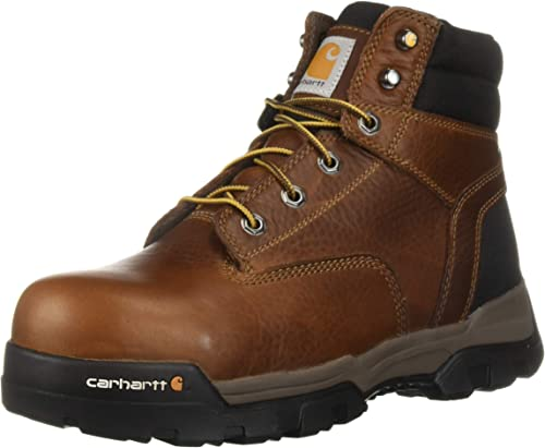 Carhartt Men's Ground Force 6  Non-Waterproof Comp Toe Industrial Stiefel, braun Oil Tanned Leather, 10.5 W US
