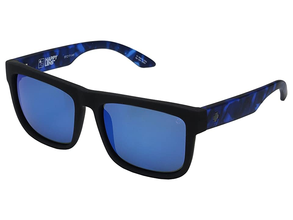 Spy Optic Discord (Soft Matte Black/Navy Tort/Happy Gray/Green/Dark Blue Spectra) Sport Sunglasses