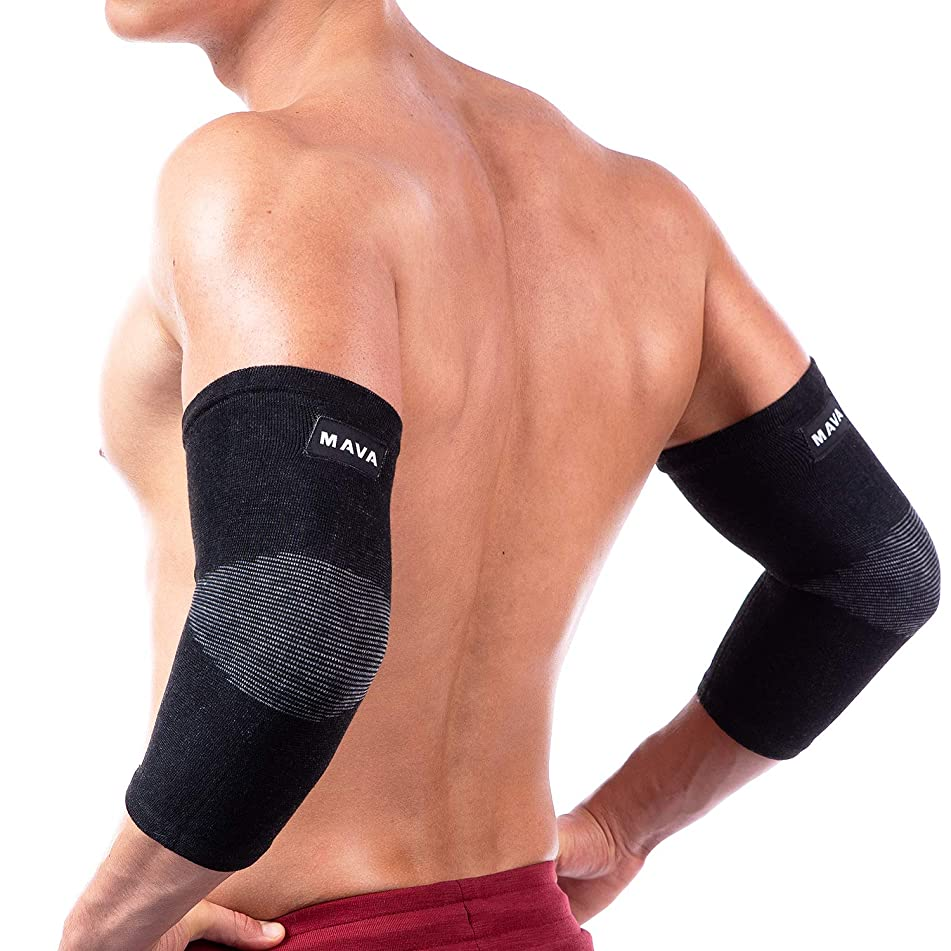 Mava Sports Elbow Sleeve Recovery Compression – Support for Workout