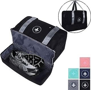 Gym Bag Shoes Compartment Travel Duffel Bag Swim Bag for Women and Men