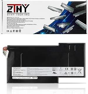 ZTHY New BTY-M6J Laptop Battery Replacement for MSI GS63 GS63VR GS73 GS73VR (6RF016CN) 6RF 7RG 7RF Stealth Pro 6RF-001US BP-16K1-31 BTY-U6J Series Gaming Laptop 5700mAh 11.4V 64.98Wh