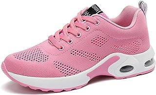 ASMCY Ligero Mujer Zapatillas de Deporte, Respirable Al Aire Libre Zapatos para Correr con Colchón de Aire, Casual Zapatil...