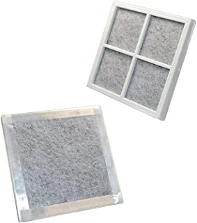 HQRP 2-pack Air Filter for Kenmore Elite Refrigerators 04609918000/469918 / 9918 Elite CleanFlow Replacement + HQRP Coaster