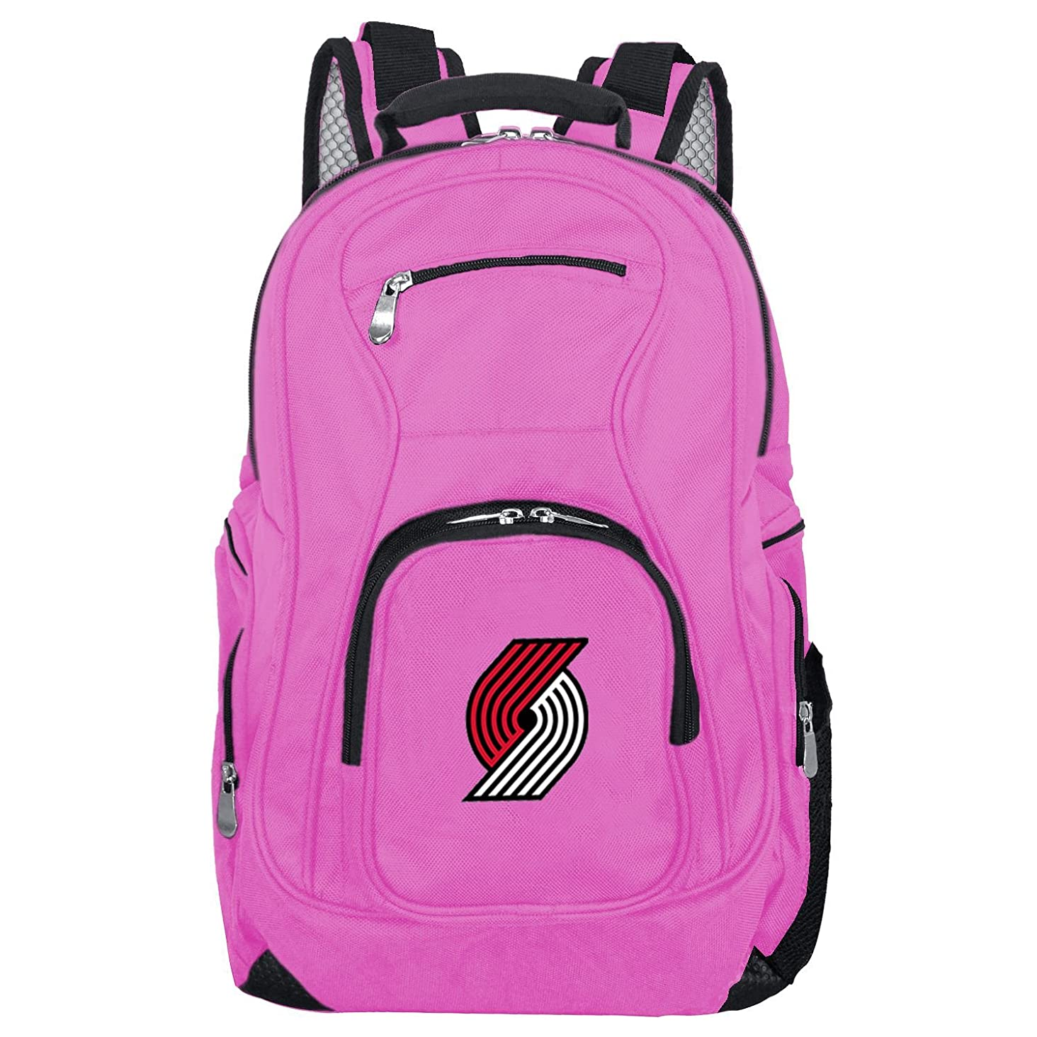 Denco NBA Voyager Laptop Backpack, 19-inches, Pink